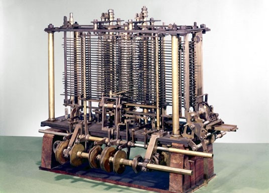 A Portion of the Analytical Engine