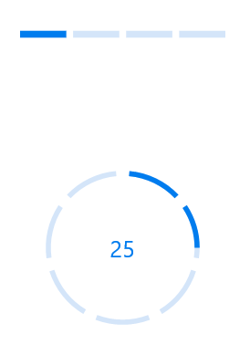 Overview of the progress bar control in Xamarin Forms