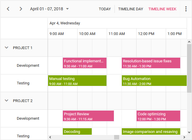javascript-schedule-with-timeline-view