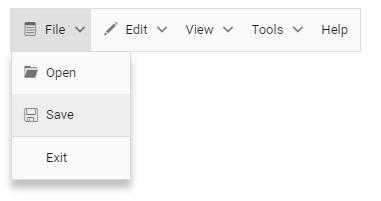 pure-javascript-menu
