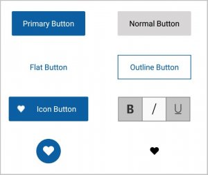 Syncfusion's Xamarin.Forms Button is highly customizable.