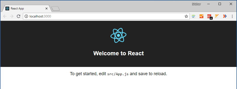 A React application