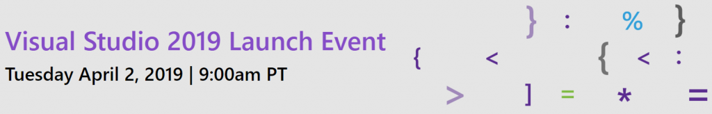 Visual Studio Launch Event Date and Time