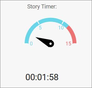 Circular Gauge as timer