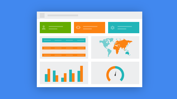 Create simple, responsive and dynamic dashboard | Sycfusion blogs