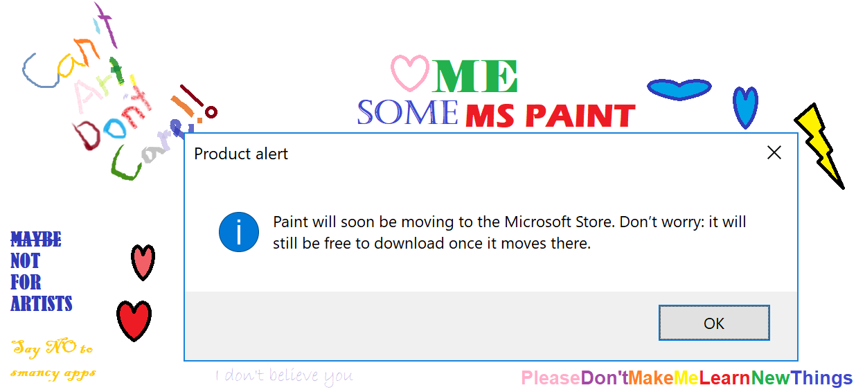 paint product alert
