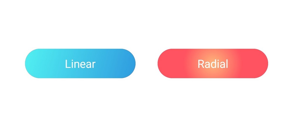 Gradient Syncfusion button