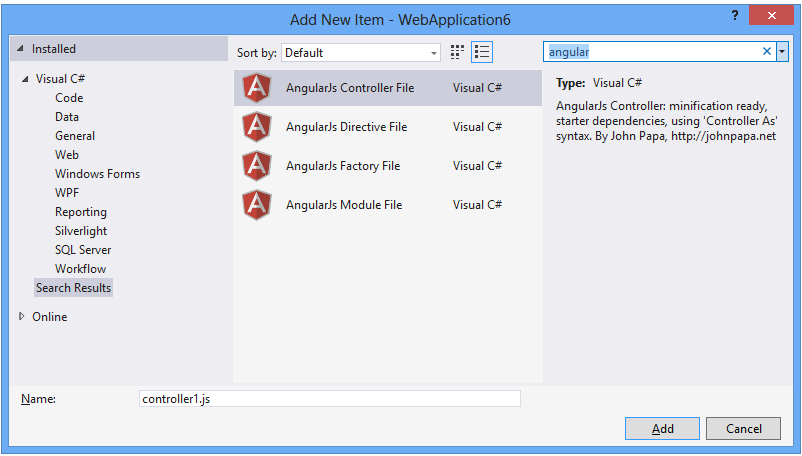 SideWaffle Template Pack - Visual Studio Extension