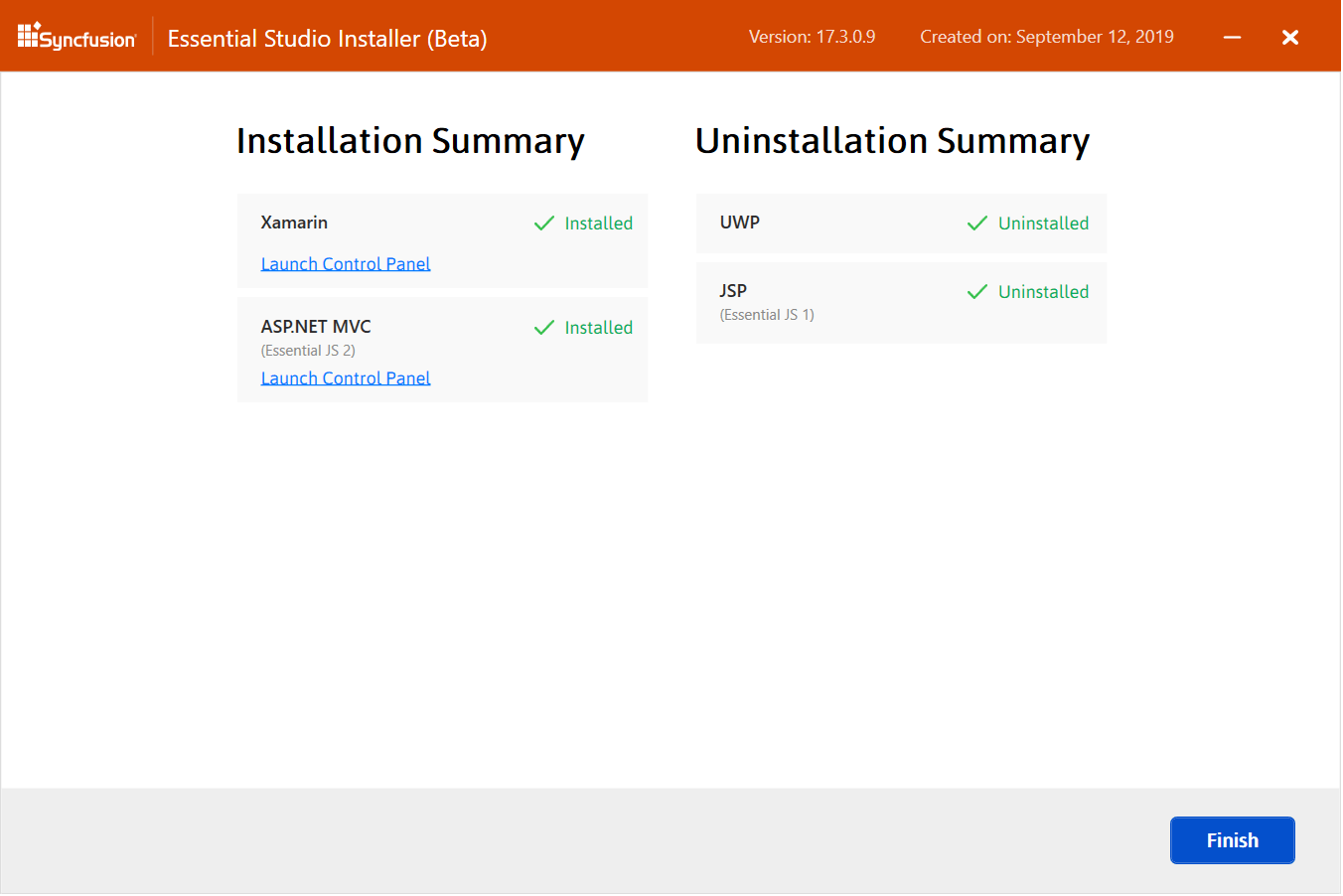 Installing and Uninstalling Platforms in One Step using Web Installer