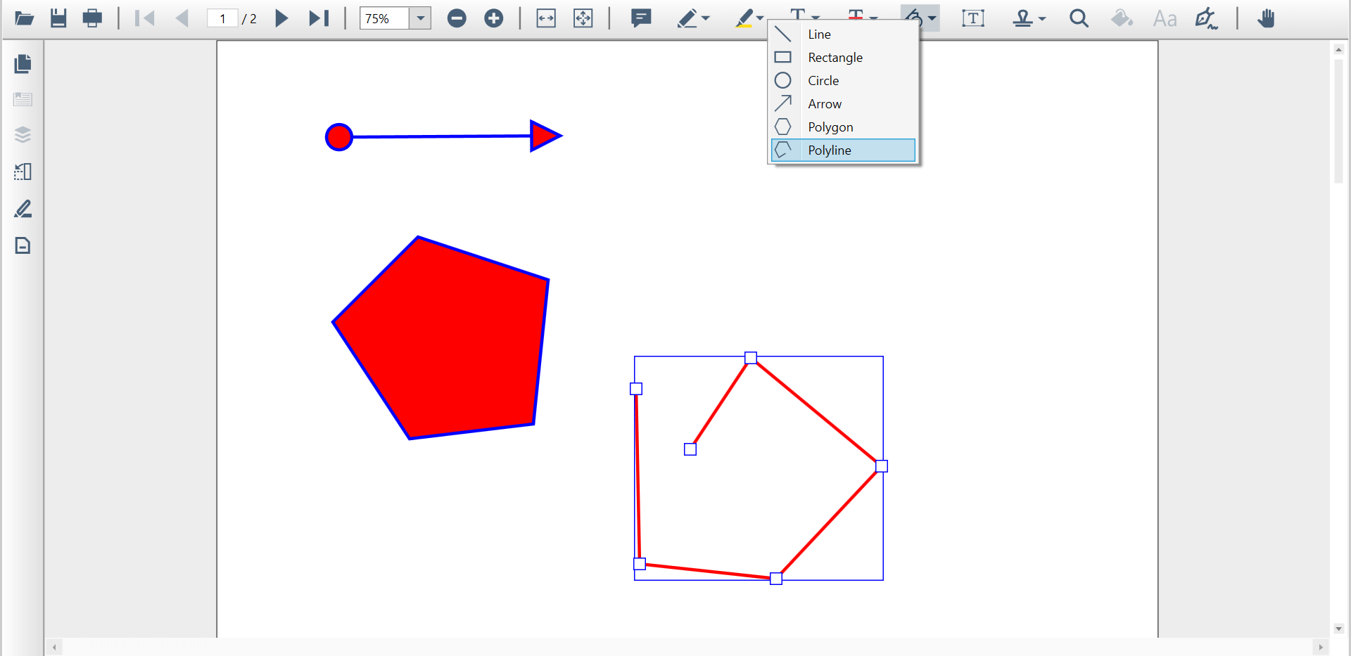 Shape Annotations