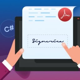 Digitally sign and verify PDF documents