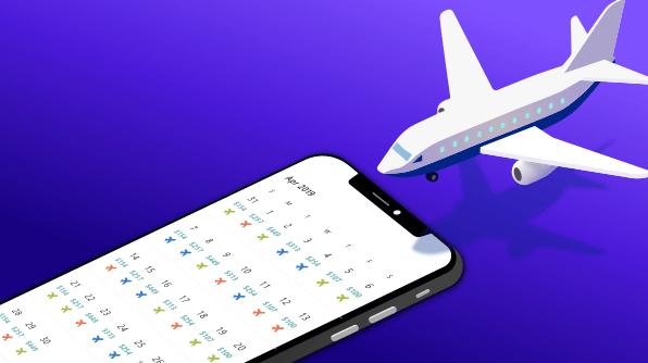 Designing Airfare Calendar in Xamarin.Forms