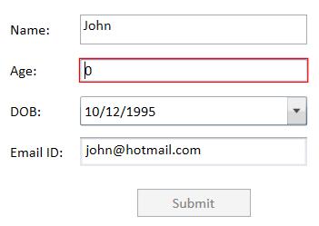 Validating user input using INotifyDataErrorInfo.