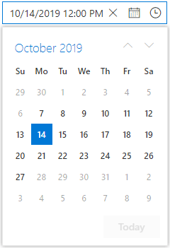 DateTime Picker with Restricted Selection.