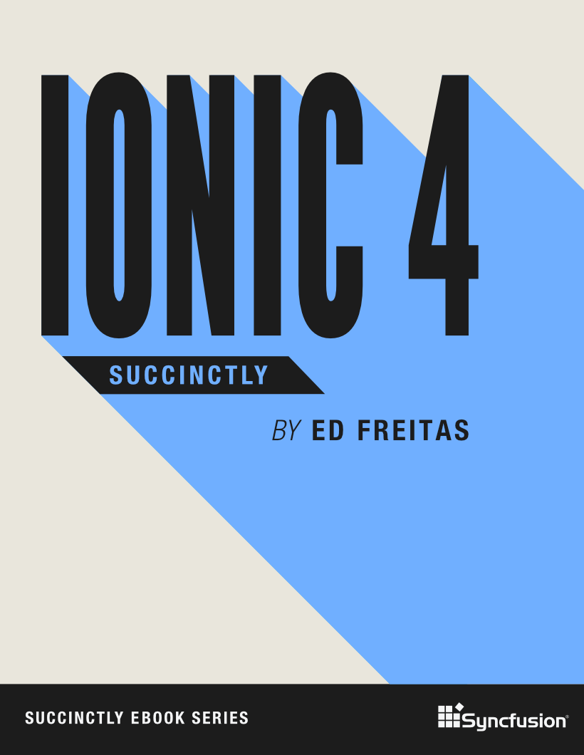 Ionic 4 Succinctly cover