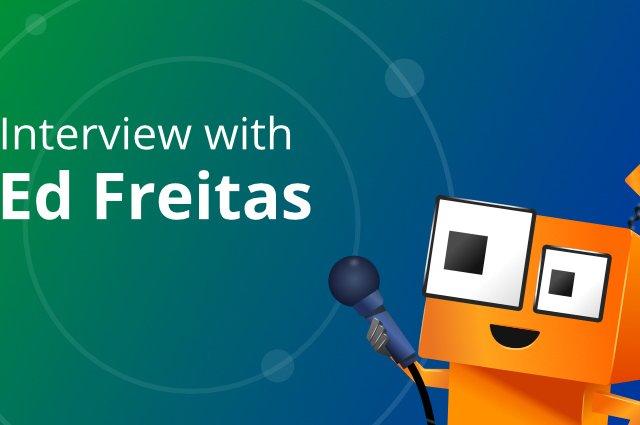 interview with ed freitas image