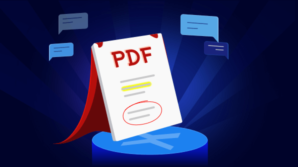 Export and import annotation in PDF
