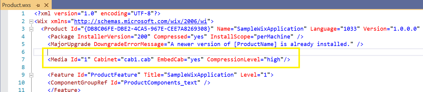 customizing media template