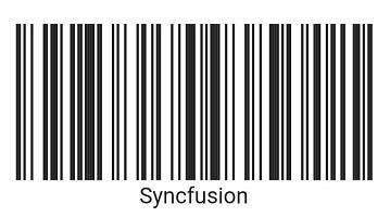 Code 128 1D barcode