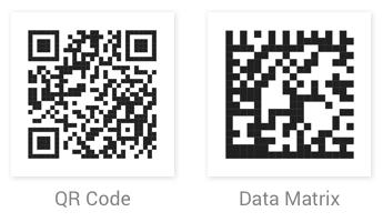 QR and Data Matrix Barcode