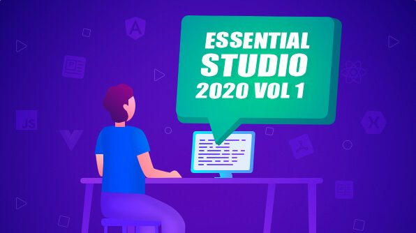 Syncfusion Essential Studio 2020 Volume 1 is here