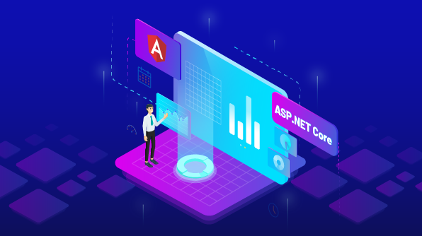 Create Report Viewer Component in Angular app with ASP.NET Core