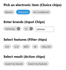 Xamarin.Forms WPF Chips