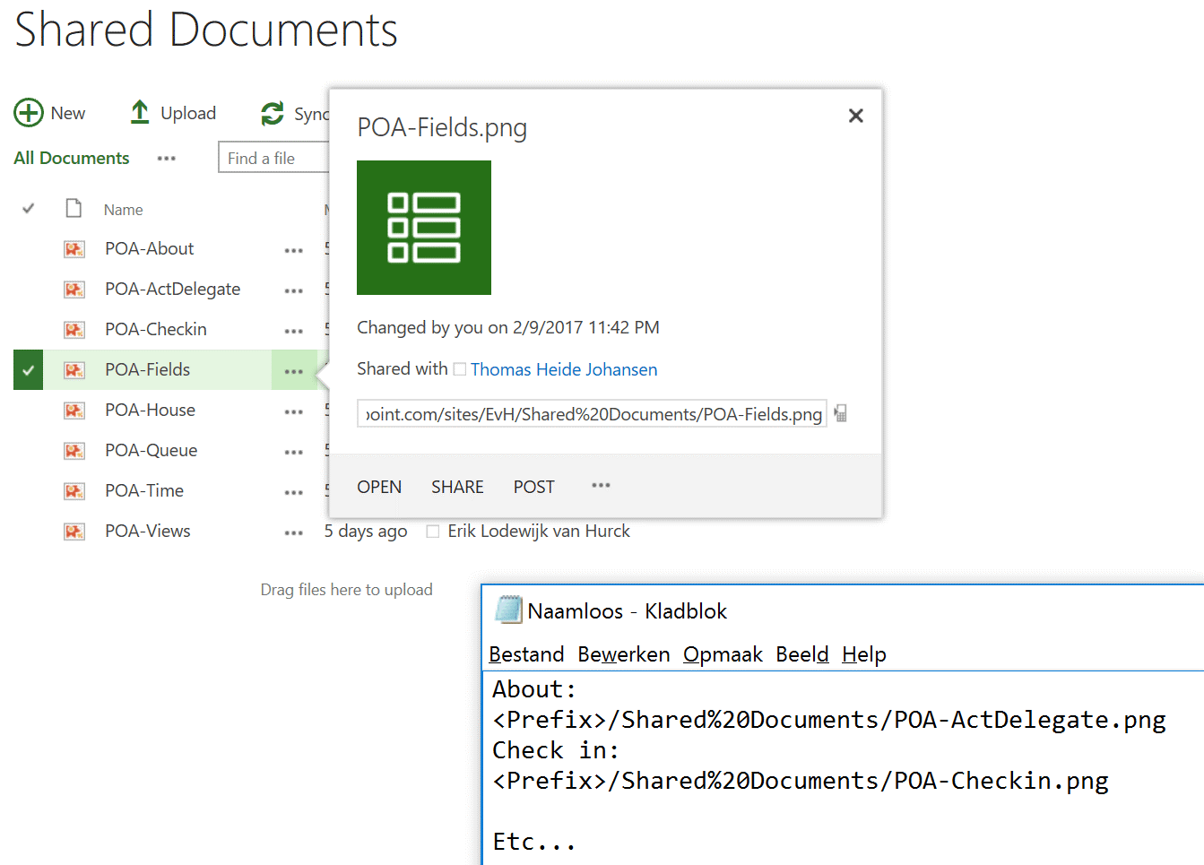 Copy Image Url From SharePoint Layout