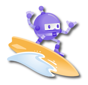.NET Robot Surfing by Microsoft