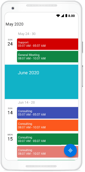 Hiding Empty Weeks in Schedule View