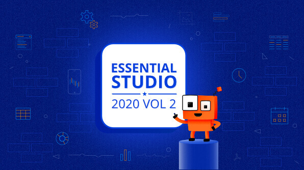 Syncfusion Essential Studio 2020 Volume 2 Is Here!