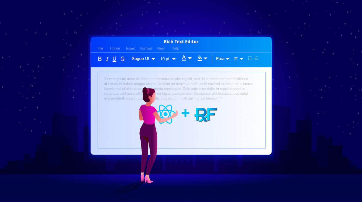 How to Use Syncfusion's React Rich Text Editor with React Redux Form