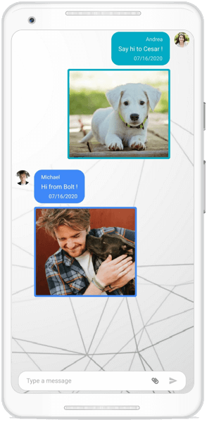 Image messages in Xamarin Chat