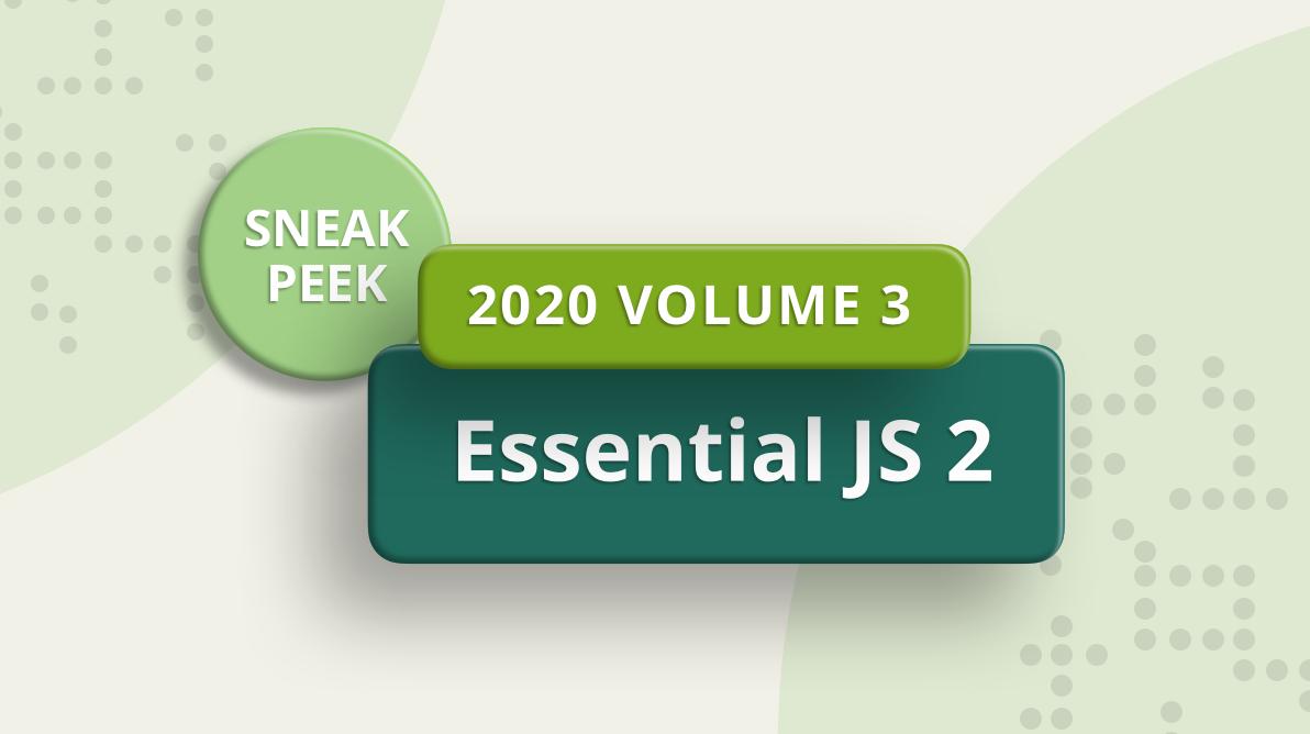 Essential JS 2