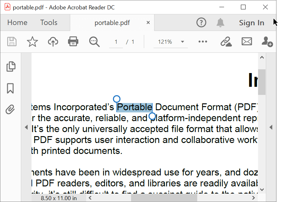 Find specific text in a page and split