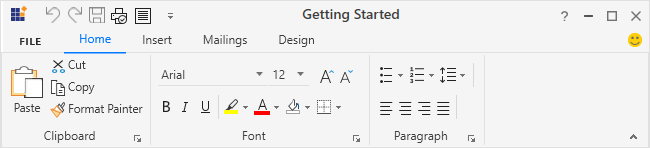 Icon template support for WPF Ribbon
