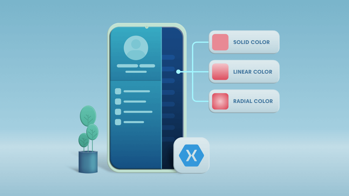 New Features in Xamarin 4.8: Gradients, Brushes, Flyout Backdrop Color