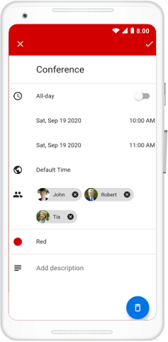 Appointment Shared with Multiple Resources
