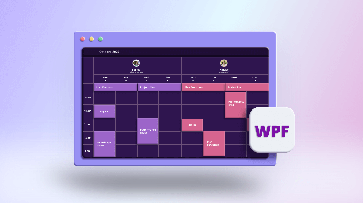 Easily Allocate Resources with the Resource View in WPF Scheduler