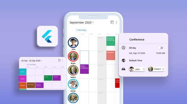 Introducing Timeline Resource Grouping in Flutter Event Calendar