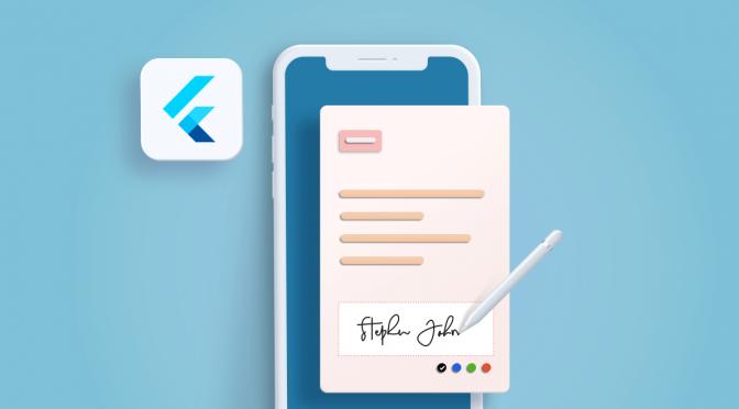 Introducing the New Flutter SignaturePad Widget