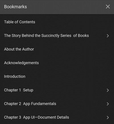 PDF Viewer Dark Theme