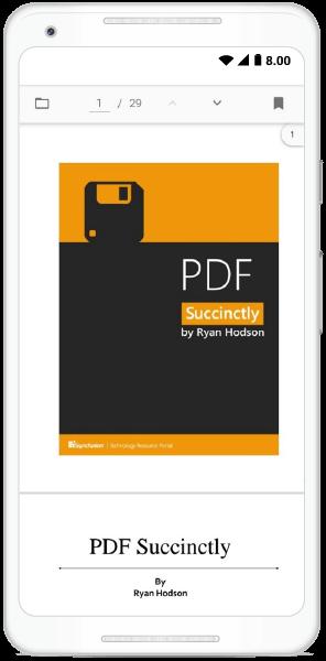 PDF Viewer with Custom Toolbar