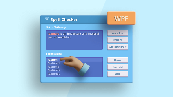 Prevent Spelling Mistakes in Your WPF Applications