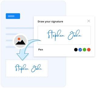 Signature to Image Conversion