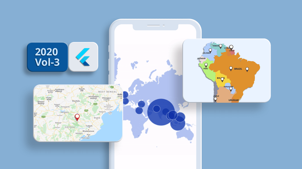 What's New in 2020 Volume 3: Syncfusion Flutter Maps