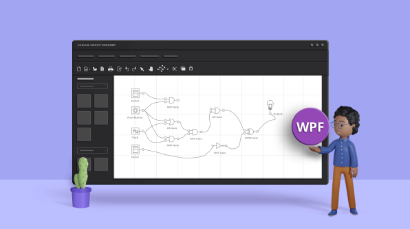 Build Digital Logic Circuits Easily with Our WPF Diagram Control