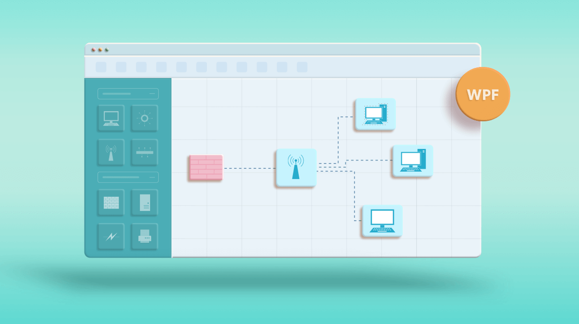 Easily Prepare Network Diagrams with Our WPF Diagram Control