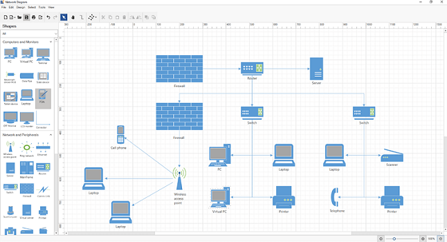 Preparing Network Diagrams with Our WPF Diagram Control