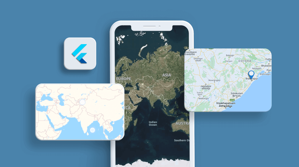 Easily Visualize OpenStreetMaps and Bing Maps in Flutter